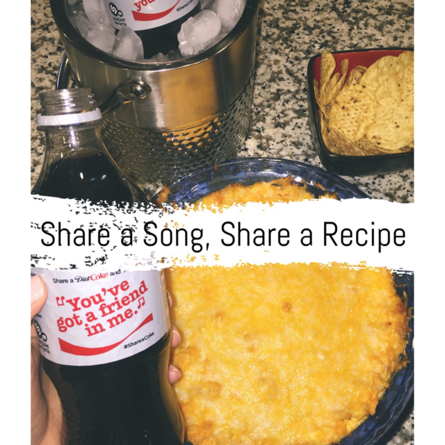 Share a Coke, a Song and a recipe.