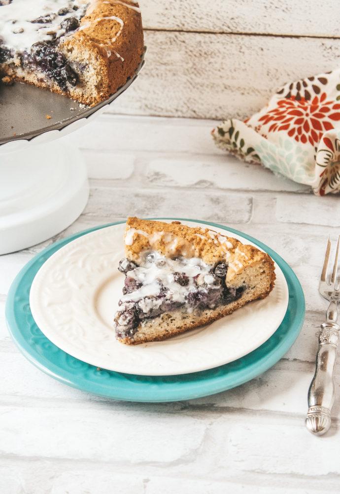 Blueberry Poppy Seed Cake!