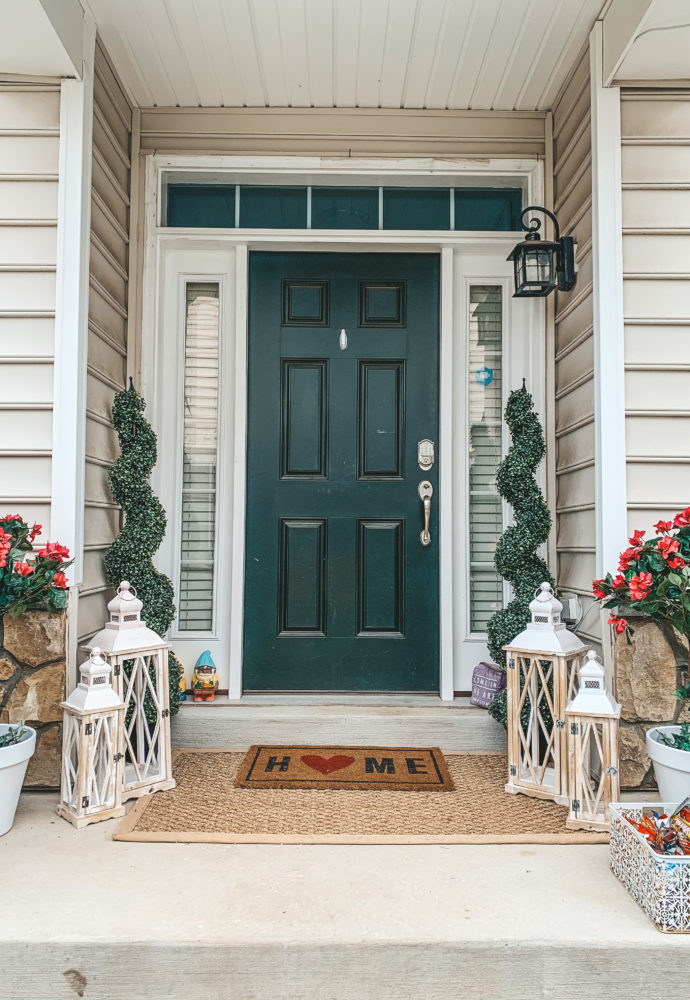 Front porch decor & DIY.