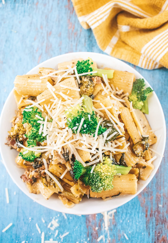 Bacon & Broccoli Cajun Pasta